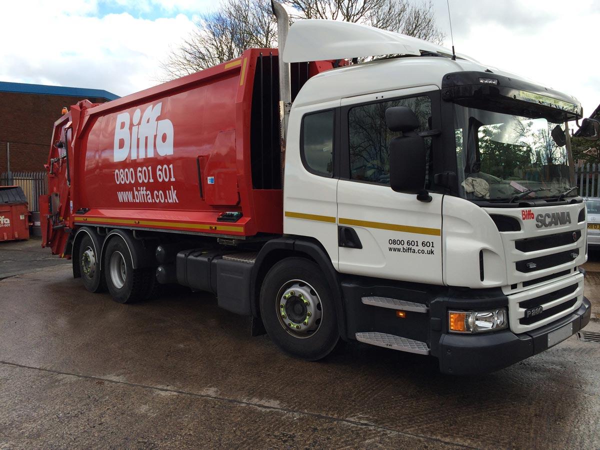 Biffa-Truck