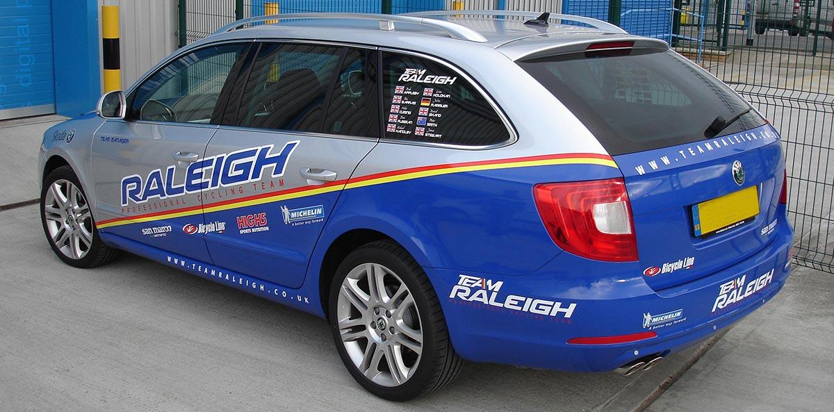 Raliegh-Car